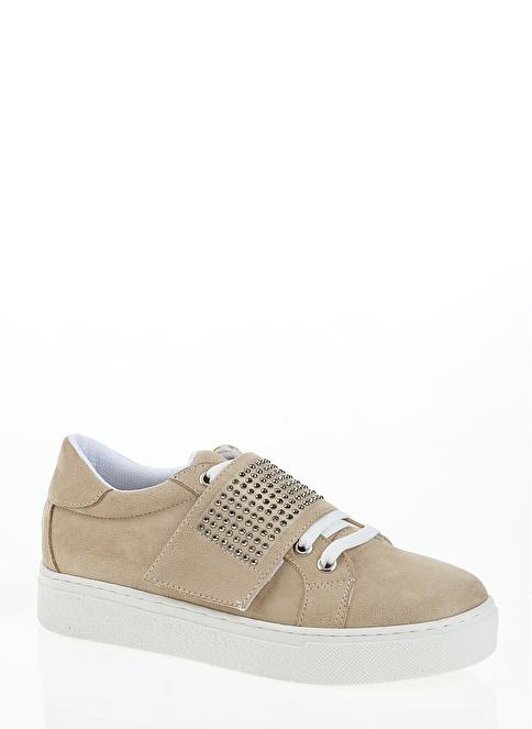 Derigo Bağcıklı Ayakkabı Bej